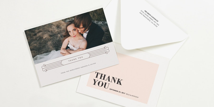 Wedding Invitations · Thank You Notes