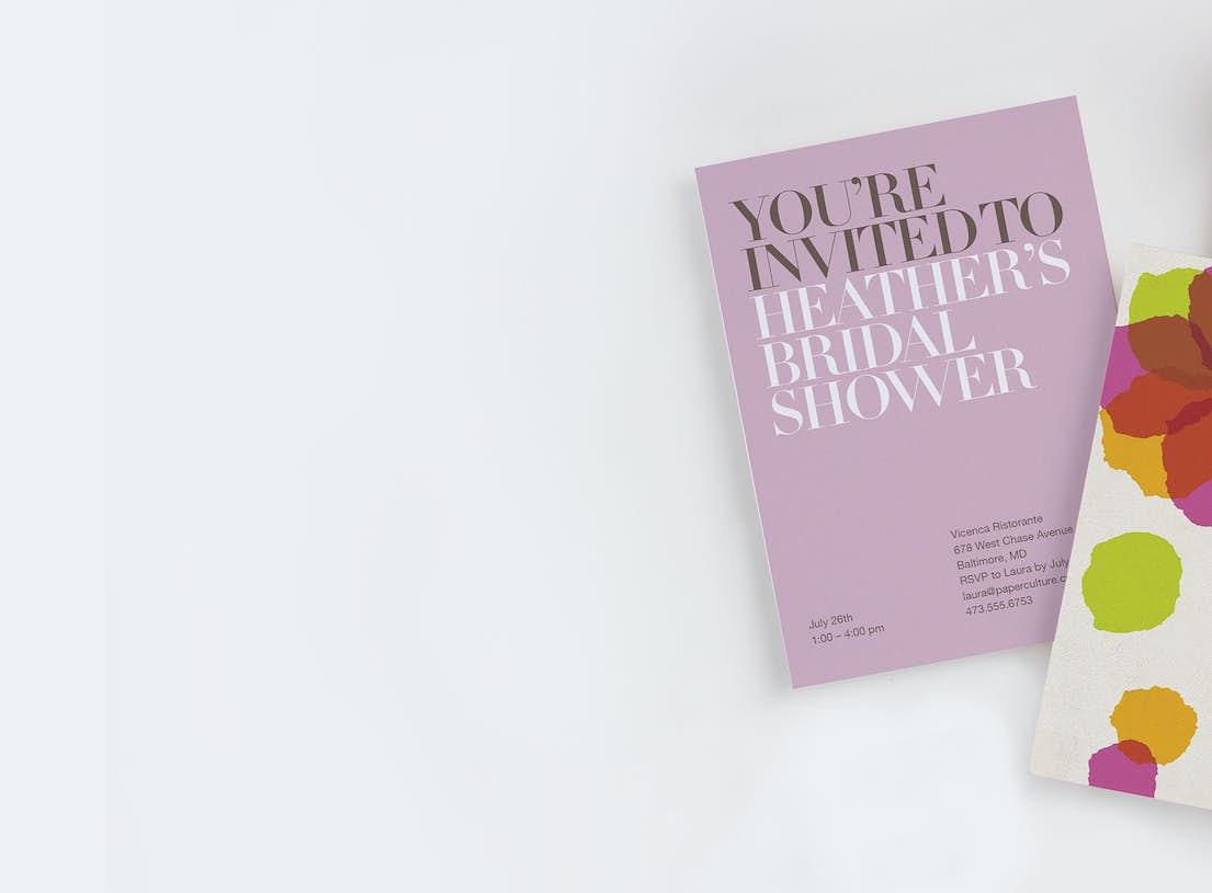 bridal shower invitations wedding shower invitations paper culture
