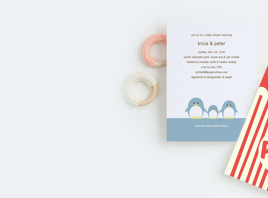 Baby shower invitations paper culture filmwisefo
