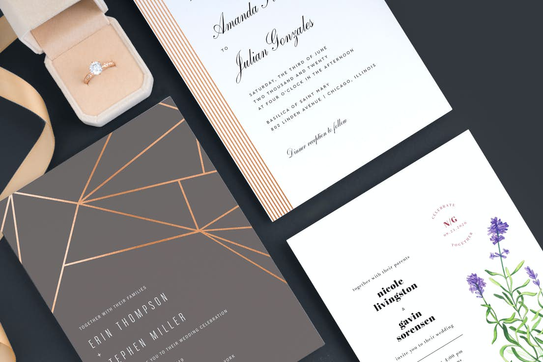 Wedding Invitation Suites | Paper Culture