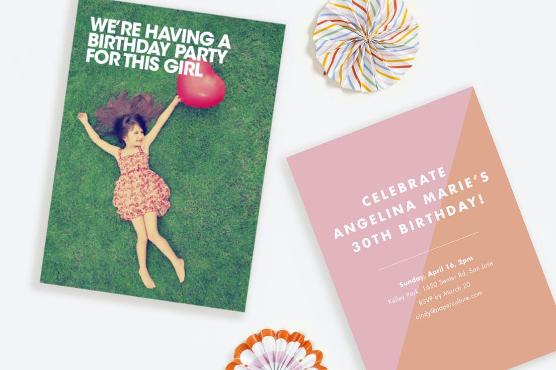 Sending Birthday Invitations Is Made Easier With Our Free Recipient Addressing Service