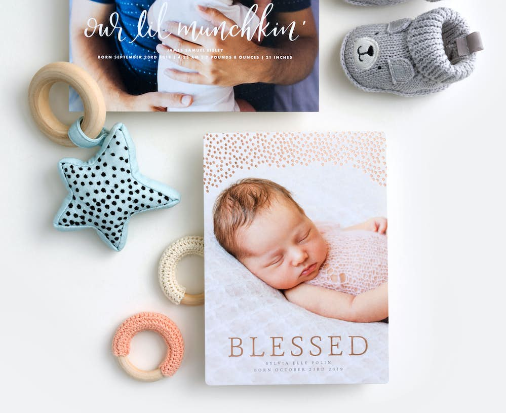 Baby Announcements Birth Announcements Paper Culture