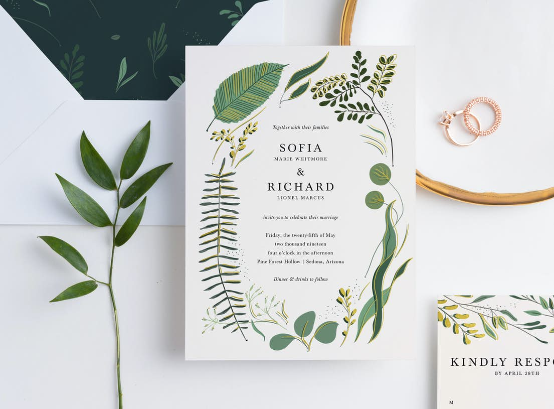 wedding invitations paper culture