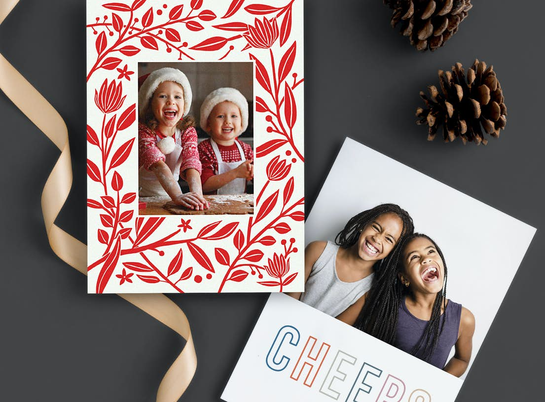 Unusual Boxed Christmas Cards.Custom Holiday Cards Paper Culture