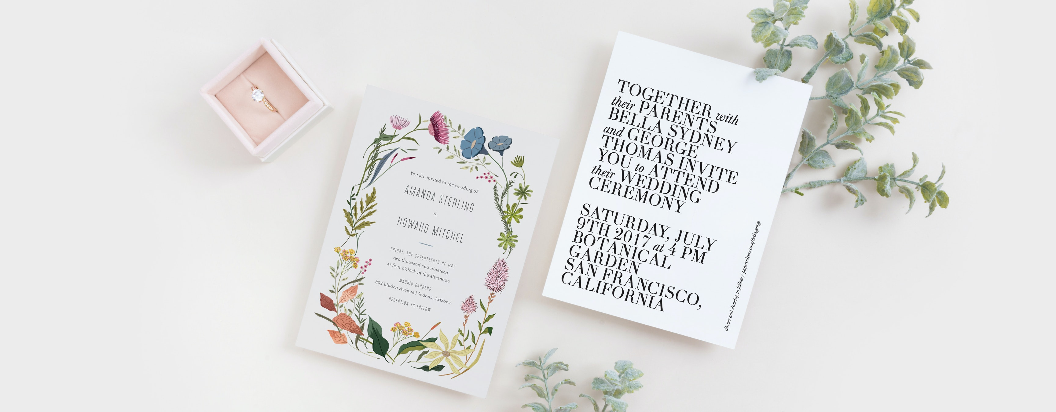 Wedding Invitation Suites Paper Culture